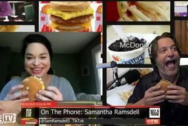 Big Mac Challenge Drew vs Sam Ramsdell