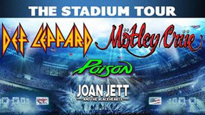 Win tickets to see Def Leppard and Motley Crue!