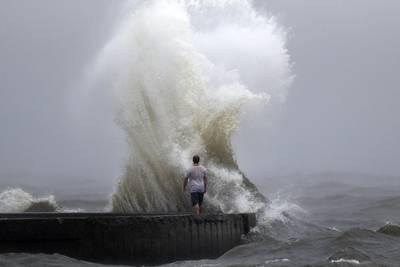 Photos: Tropical Storm Cristobal brings heavy rain, storm surge to US Gulf Coast