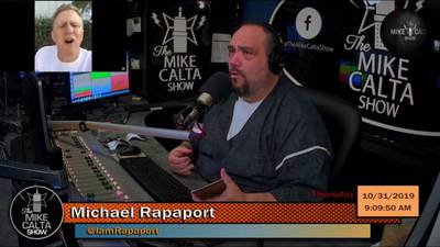 #TheMikeCaltaShow Former Actor MICHAEL RAPAPORT